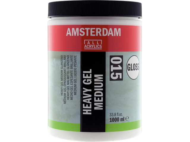 Heavy gel Médium acryl brillant 1000 ml Talens