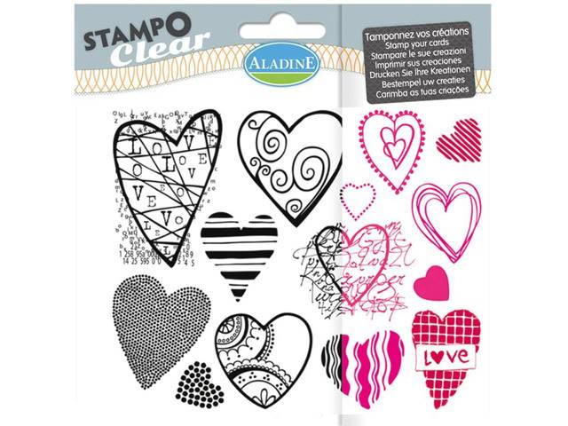 Stampo Clear Coeur
