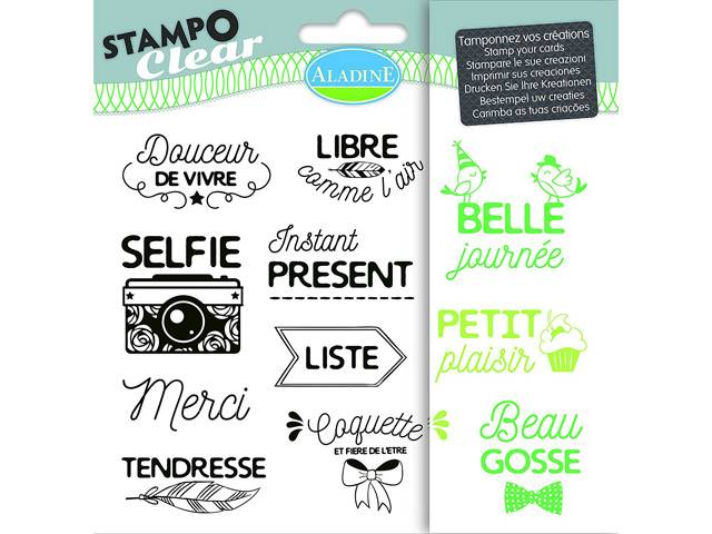 Tampon Clear Phrases Expressions