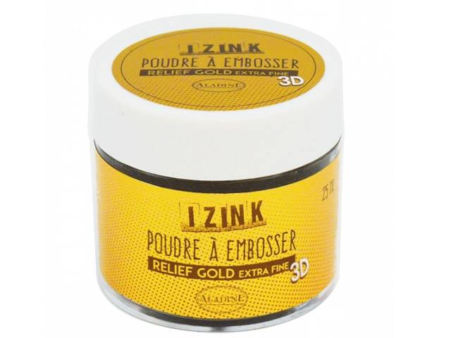 Poudre à Embosser 25 ml Gold Extra Fine