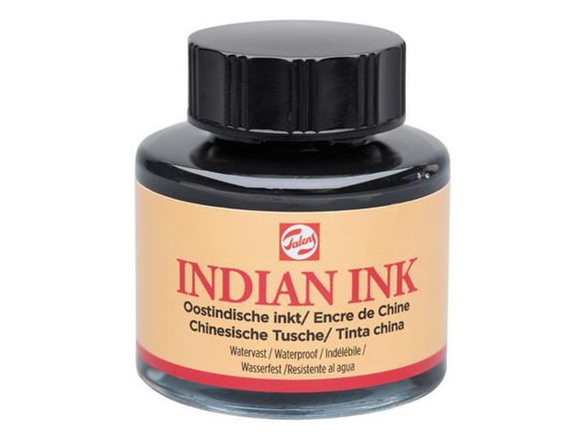 Encre de Chine Talens Flacon 30 ml Indian INK