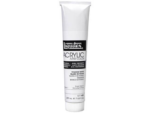 Acrylique Heavy Body Blanc de Titane Liquitex 200ml