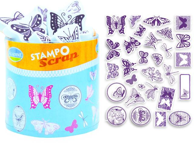 Stampo Scrap Papillons