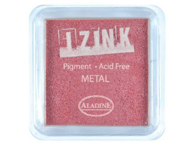Encreur Izink Metal Red