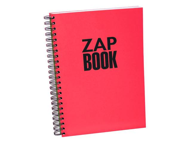 Zap book esquisse spiralé 21x29,7 uni 320pages