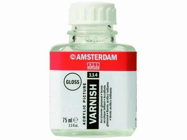 Vernis acryl brillant Talens 75ml