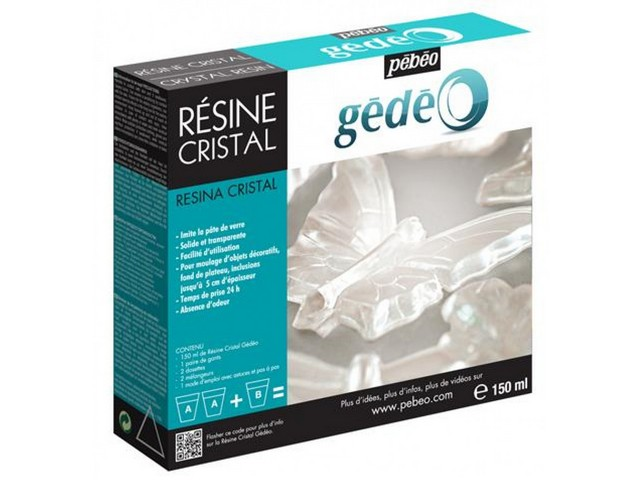 Kit Resine Cristal 150ml