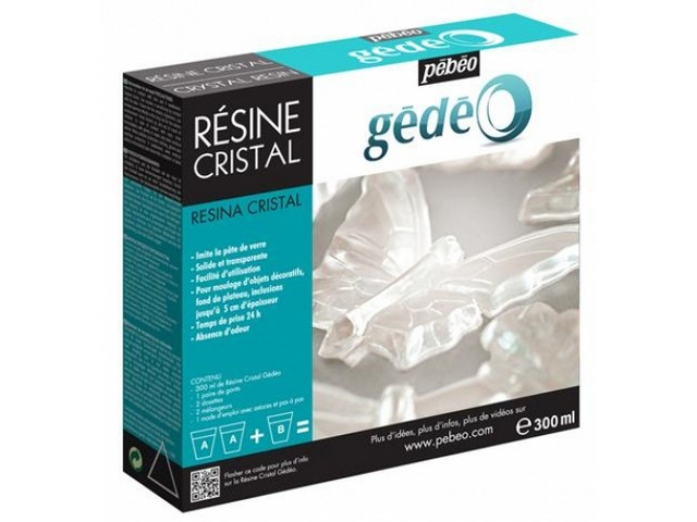 Kit Resine Cristal 300ml