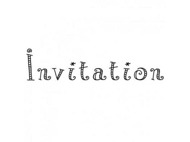 Tampon C Invitation N°4
