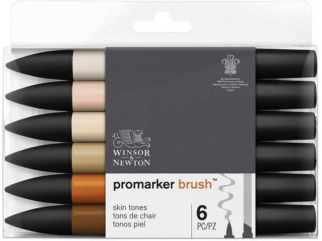 Assortiment 6 Promarkers Brush Marker Tons Chair