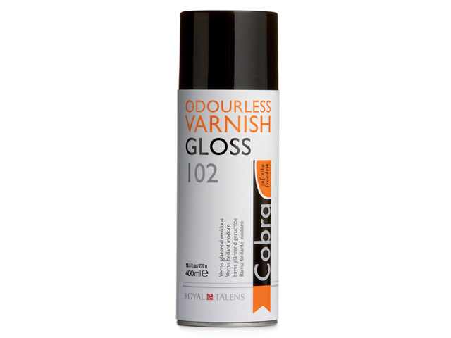 Vernis brillant Cobra 400 ml spray