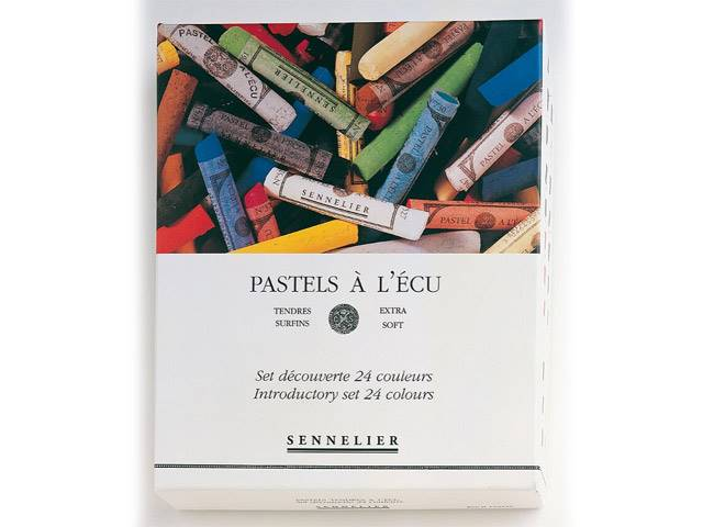 Boite 24 Pastels à l'Écu Sennelier Introduction