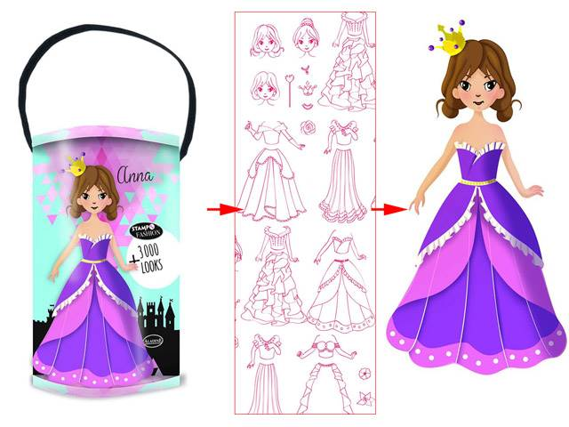 Stampo Fashion Box Princess