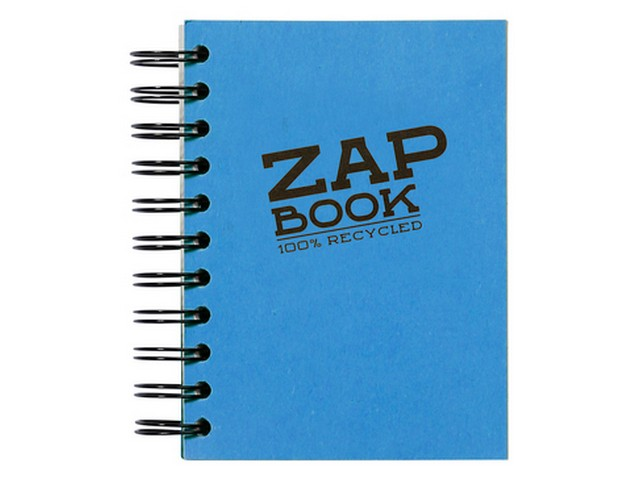 Zap Book Esquisse Spiralé 320 pages