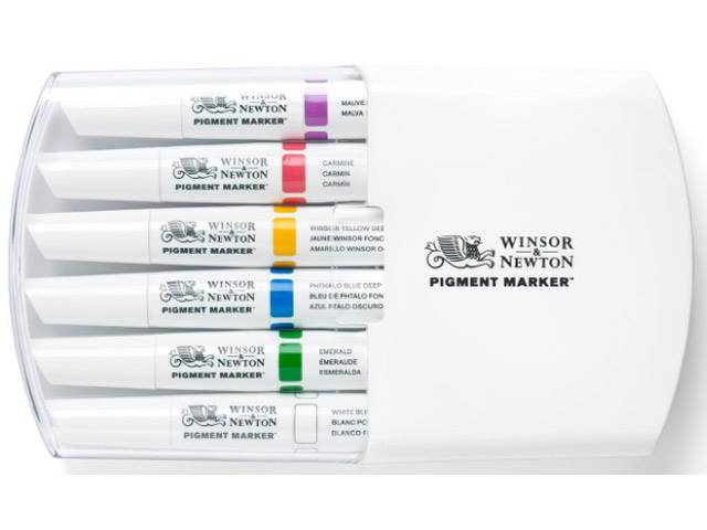 ASSORTIMENT 6 PIGMENT MARKER RICHES