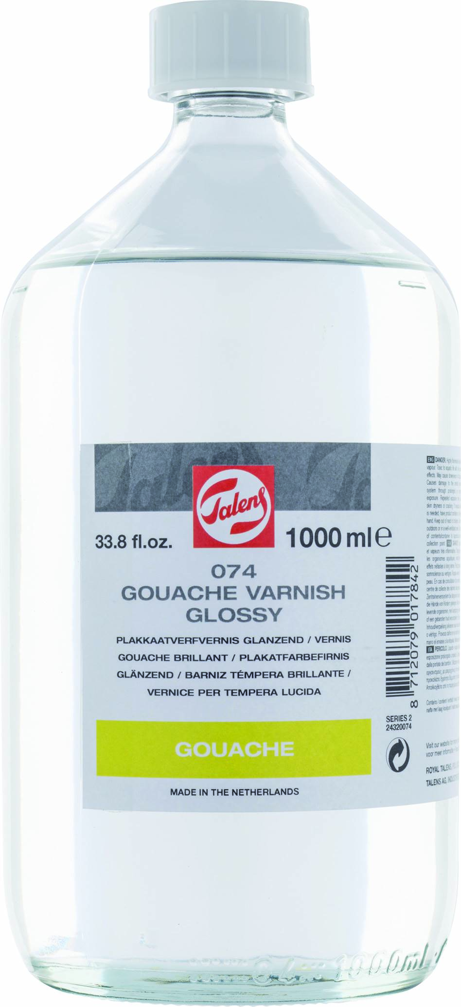 Vernis gouache brillant Talens 1000 ml