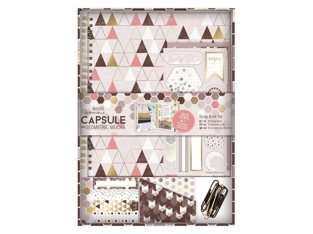 Kit Scrap Book - Capsule Collection - Geometric Mocha