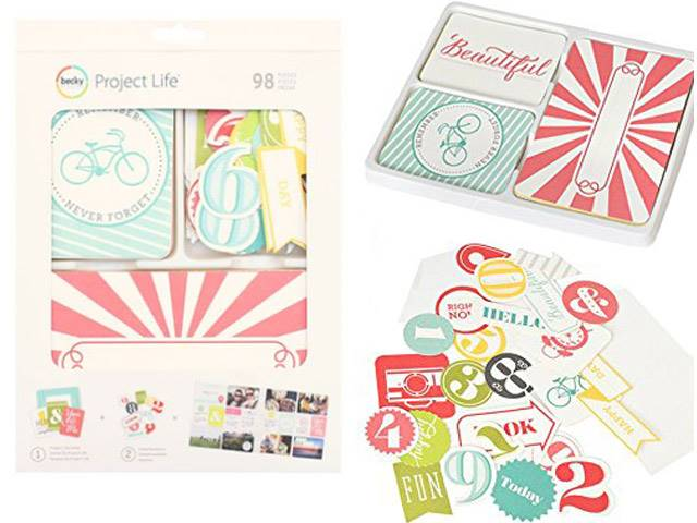 PROJECT LIFE KIT EMBOSSED