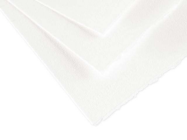 Feuille aquarelle Moulin Du Roy Fin Blanc Naturel 300G 56X76