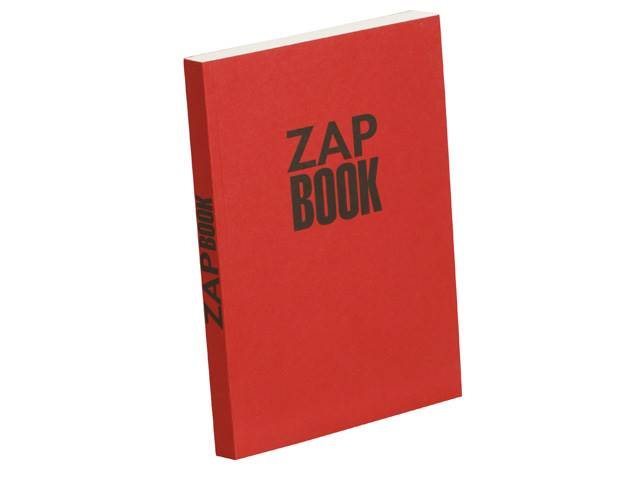 Zap Book Esquisse Broché 80G 14,8X21 Uni 320 Pages