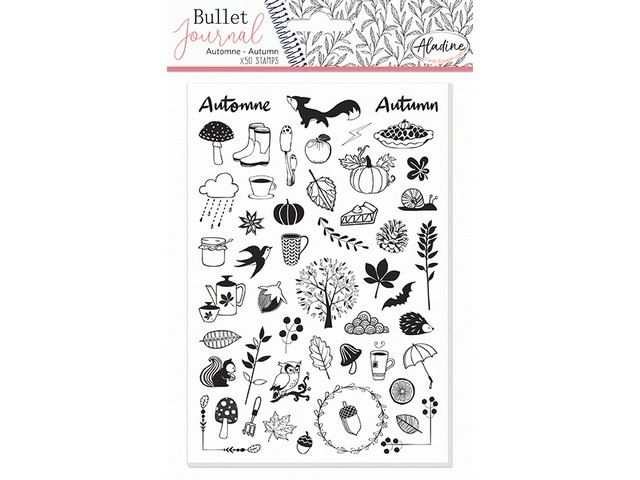 Tampons mousse Bullet Journal : Automne