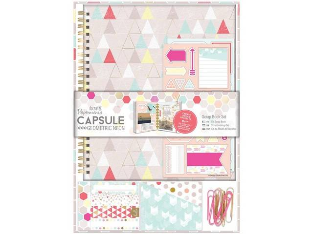 Kit Scrap Book - Capsule Collection - Geometric Neon