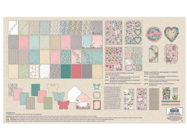 Kit Card Making Compendium Butterfly 800 Pieces