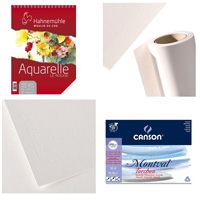 Papier Aquarelle 100% CELLULOSE