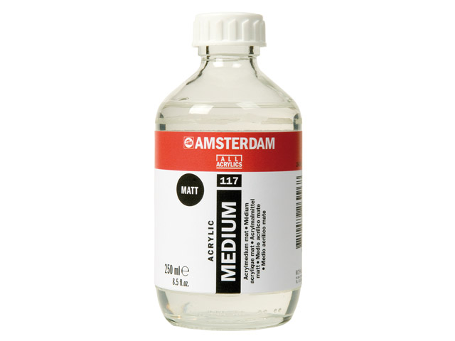 Médium acryl mat Talens 250ml