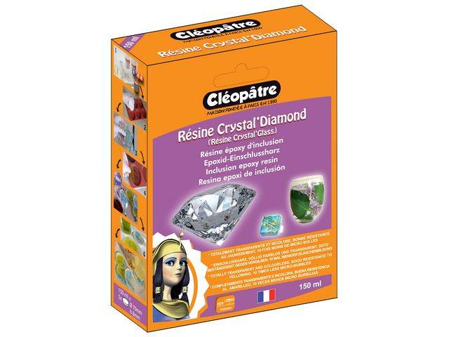Résine crystal'diamond en 150 ml en coffret