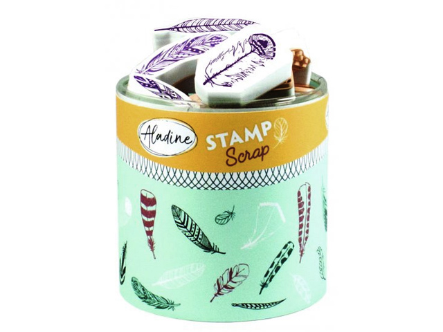 Stampo Scrap Plumes - 32 tampons