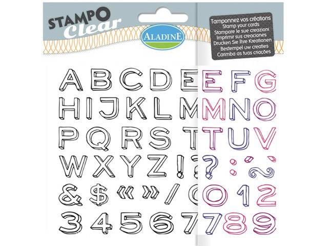 Stampo Clear Alphabet Neo