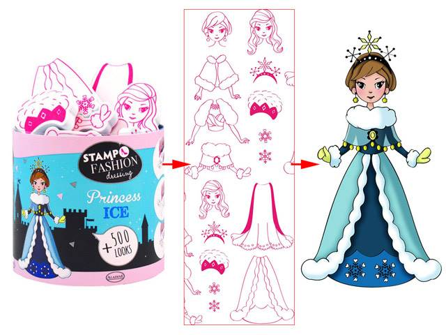 Stampo Fashion Dressing Princess Ice