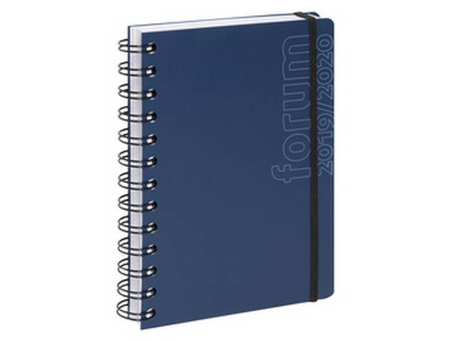 Agenda journalier Forum Sporty 2019-2020 17x12 cm (bleu)