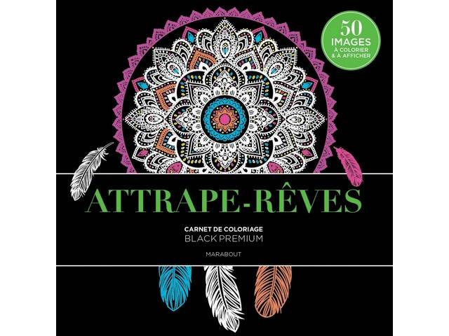Attrape-Rêves 50 coloriages