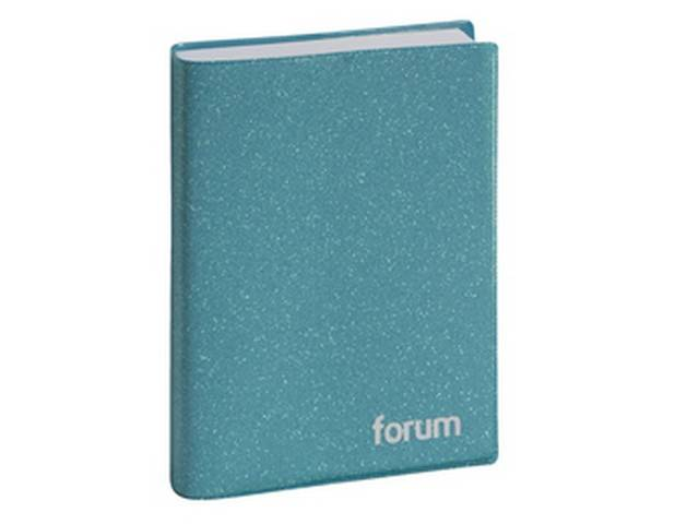 Agenda journalier Forum 2019-2020 17x12 cm (cyan)