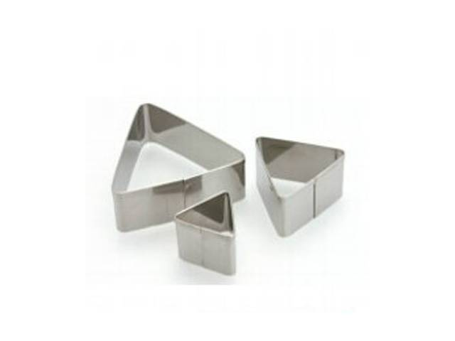 3 Emportes Pieces Metal Triangles