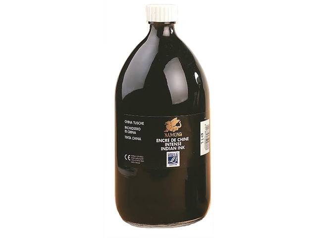 Encre de Chine Nan-King Flacon 1 Litre
