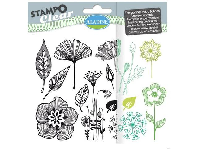 Stampo Clear Fleurs