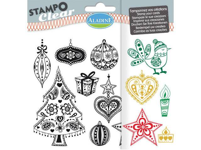 Stampo Clear Noel Tangle