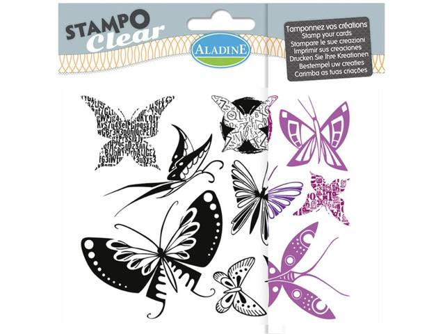 STAMPO CLEAR PAPILLONS