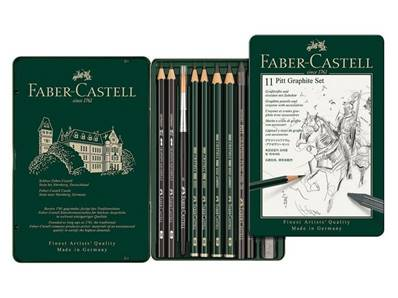 Set Pitt Graphite 12 pieces Faber Castell