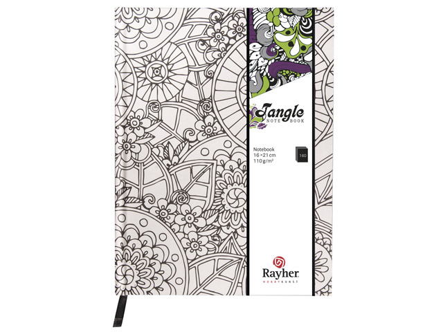 Tangle Agenda Flora Coloriage Anti Stress Relié