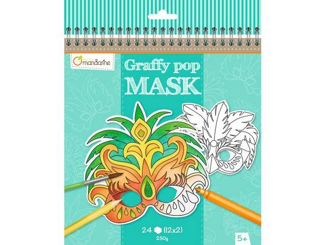 Graffy Pop Mask - Rio