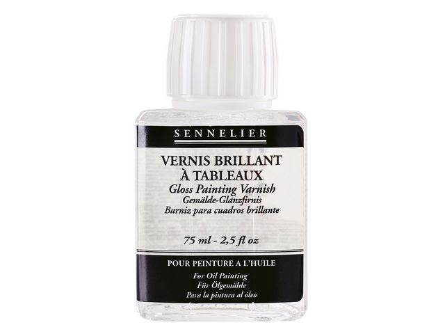 Vernis Brillant à tableaux Sennelier Flacon 75ml