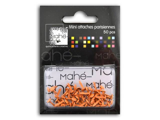 50 Mini Attaches Parisiennes - Orange