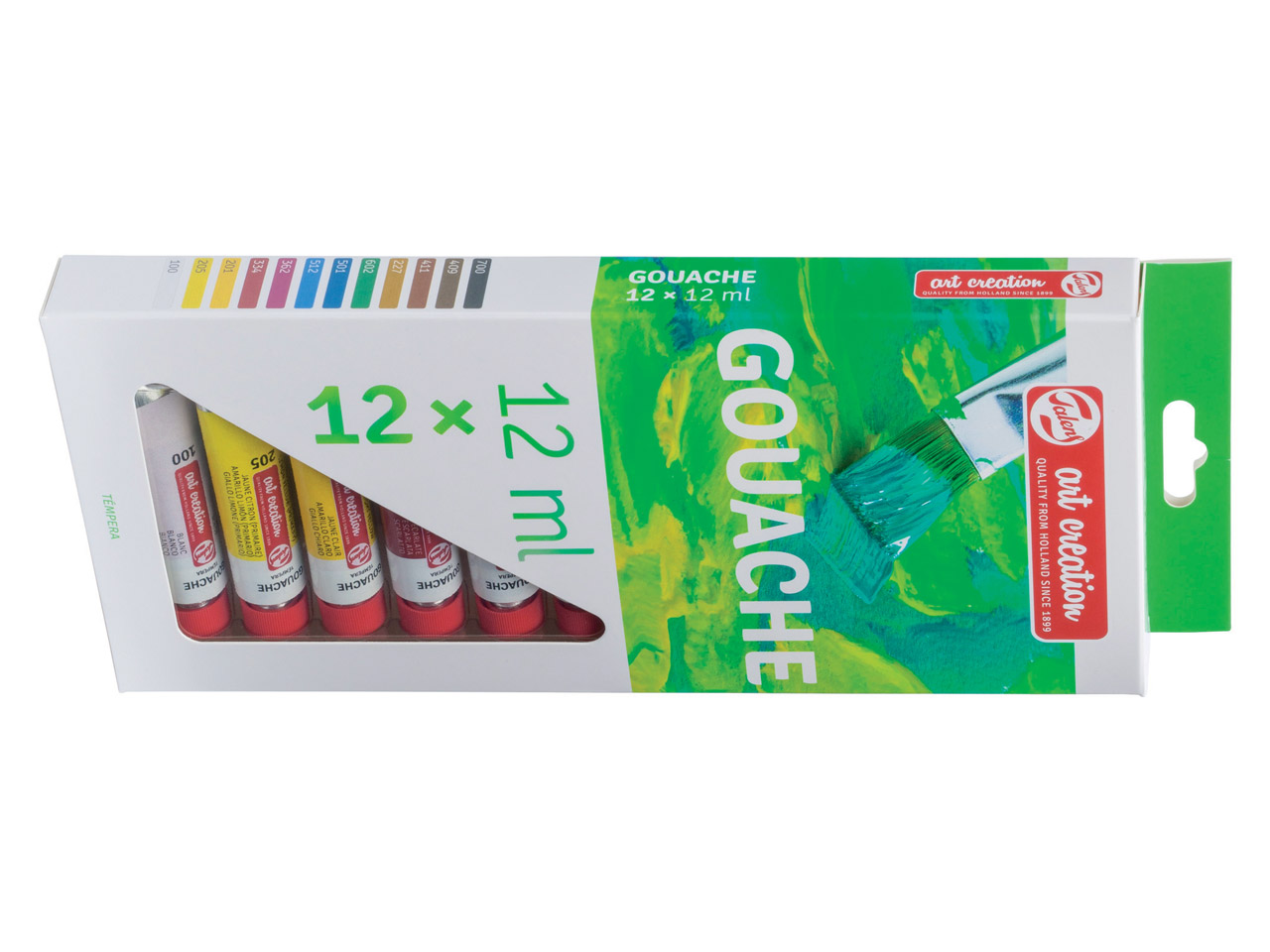 Set de 12 Tubes 12 ml Gouache Artcréation