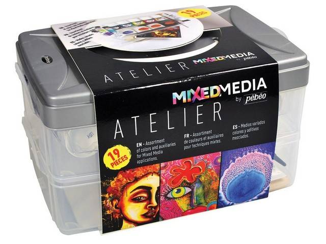Coffret Atelier MIXED MEDIA Pébéo