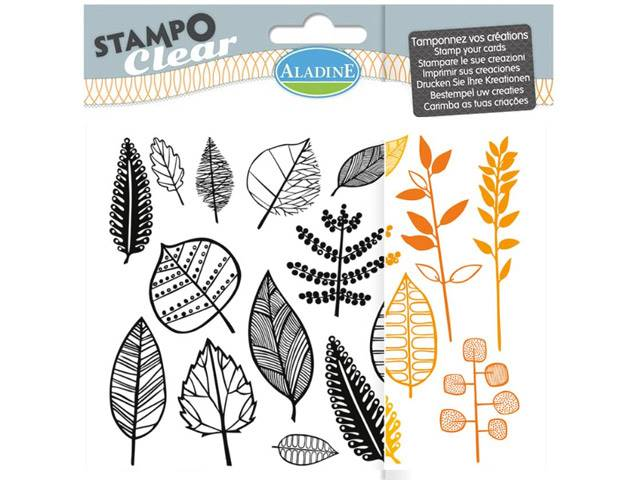 Stampo Clear Feuilles
