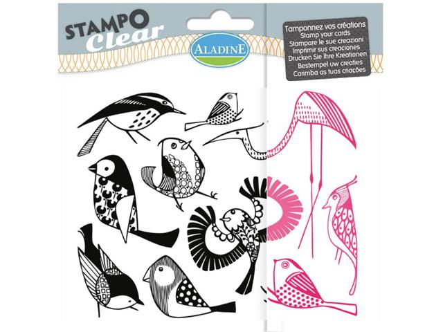 STAMPO CLEAR OISEAUX